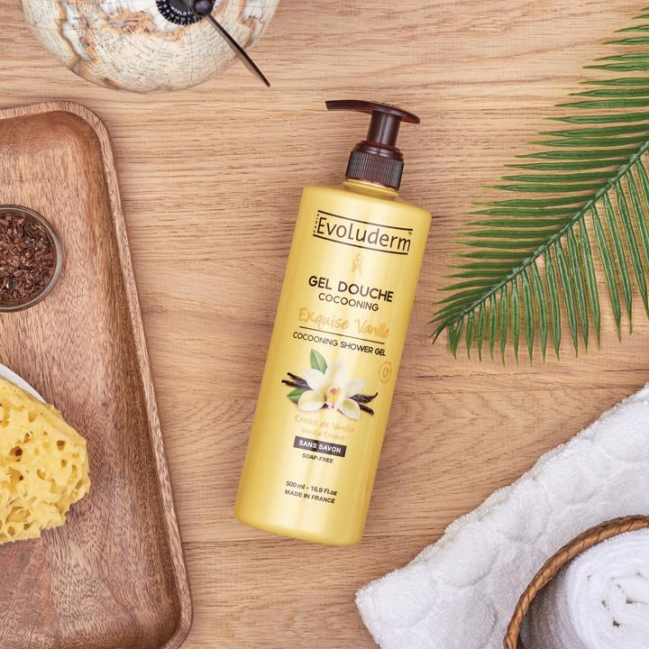 GEL DOUCHE COCOONING EXQUISE VANILLE