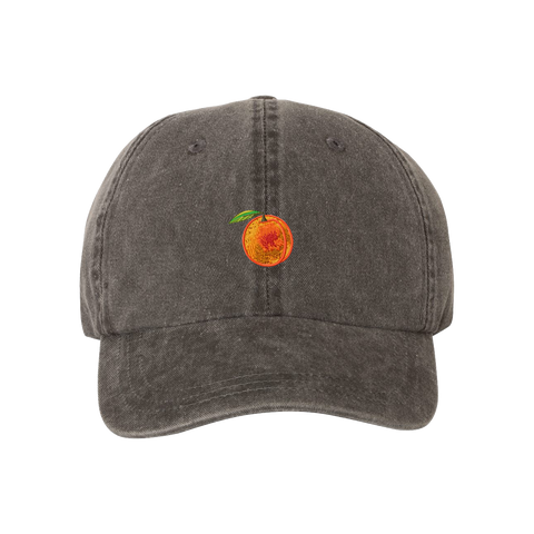 APRICOTS DAD HAT BLACK