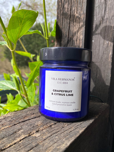 Vila Hermanos Soy Wax Candle - Grapefruit & Citrus Lime