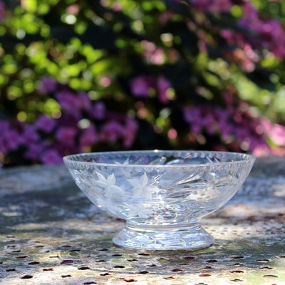 Bohemian Crystal Bowl
