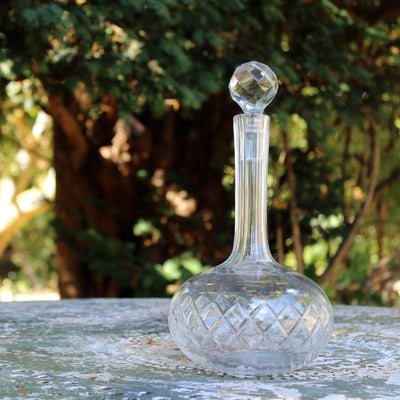 Hourglass Decanter