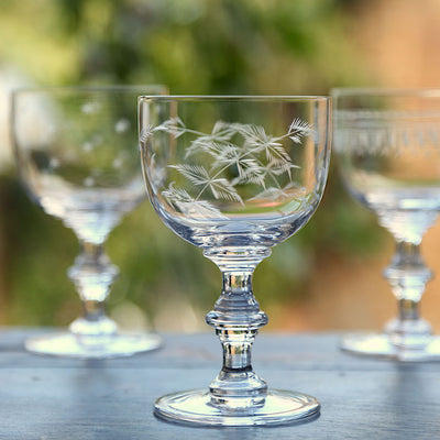 The Vintage List Ferns Wine Goblets Set of 4