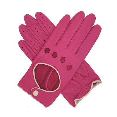 Southcombe Driving Gloves Jules Pink