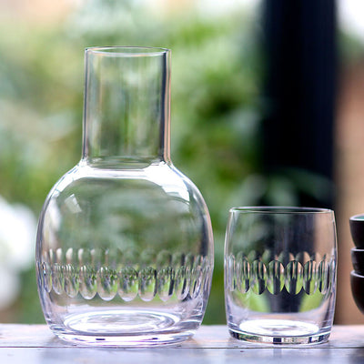 The Vintage List Lens Carafe and Glass 4 Styles