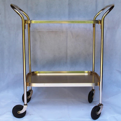 1950's Gold Drinks Cart