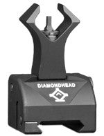 Diamond Gas Block Front Combat Sights (for AR15 & AR10)