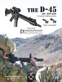 D-45 (45 degree off-set Swing Sights) Integrated Sighting System™