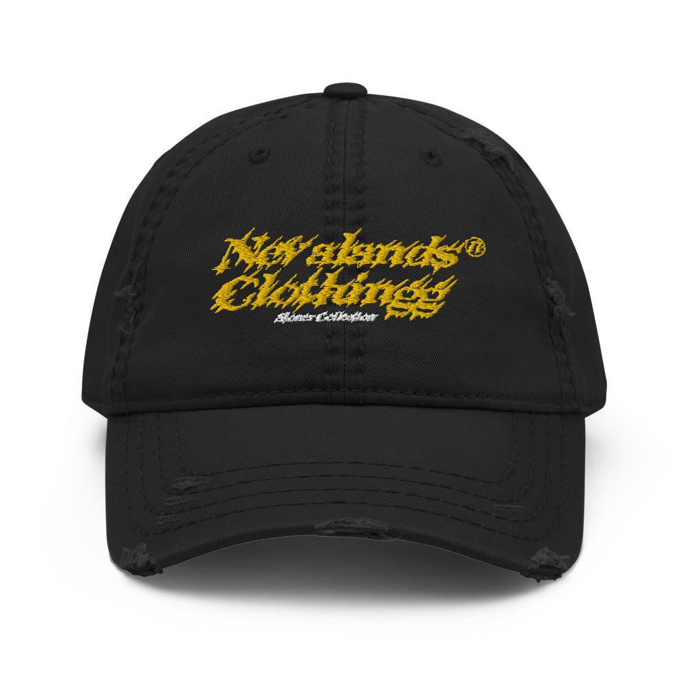 Nevalands Clothingg Distressed Dad Hat