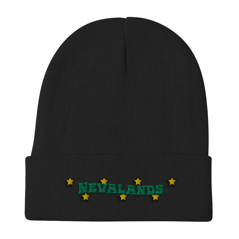 For The Stars Embroidered Beanie