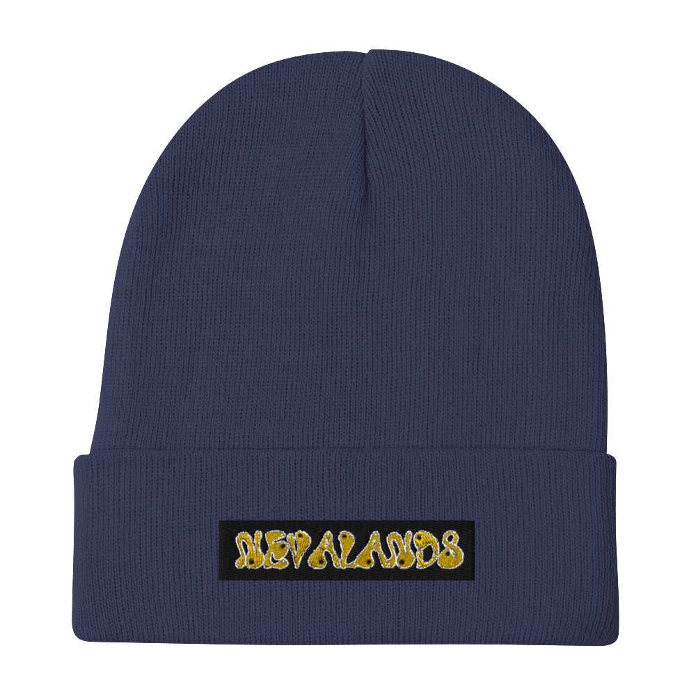Nevalands Embroidered Beanie