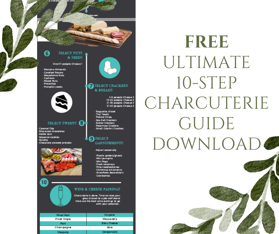 FREE Ultimate 10-Step Charcuterie Guide