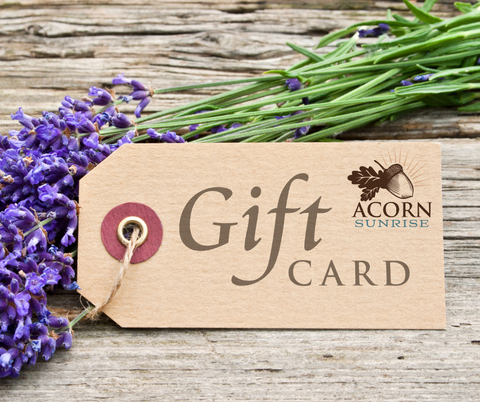 Acorn Sunrise Gift Cards