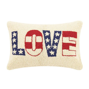Love USA Hook Pillow