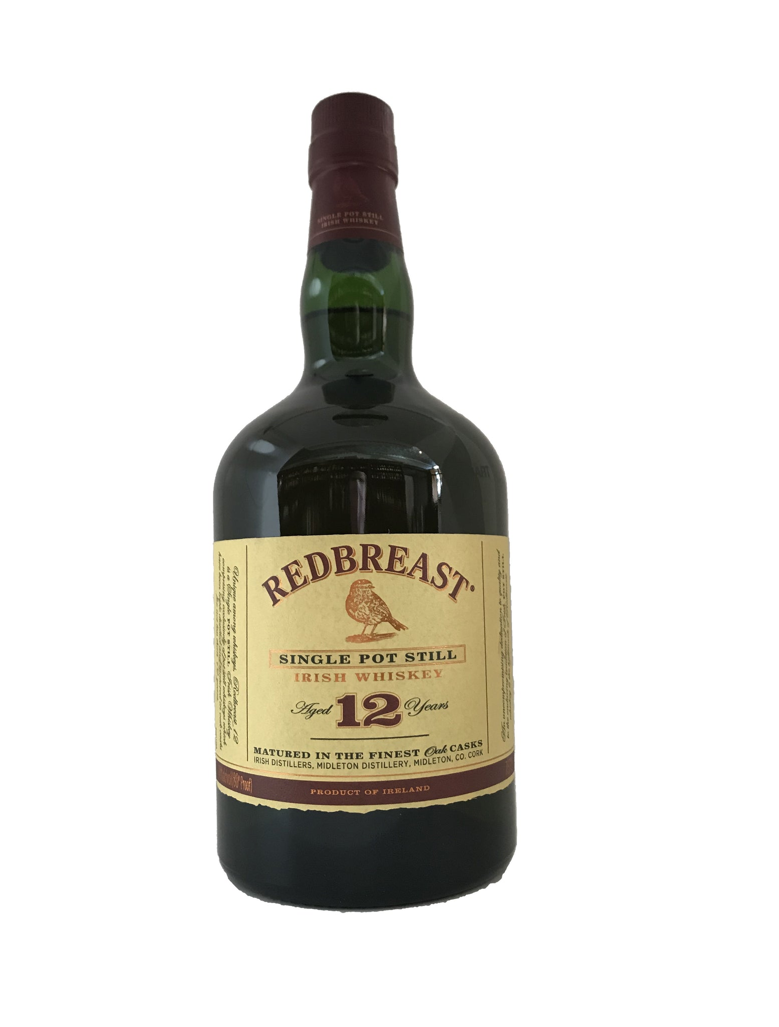 Redbreast 12 Yr Irish Whiskey Single Pot Still