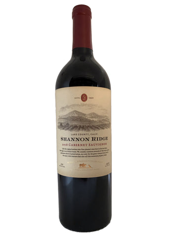 Shannon Ridge Cabernet Sauvignon Lake County 2018 High Elevation Collection