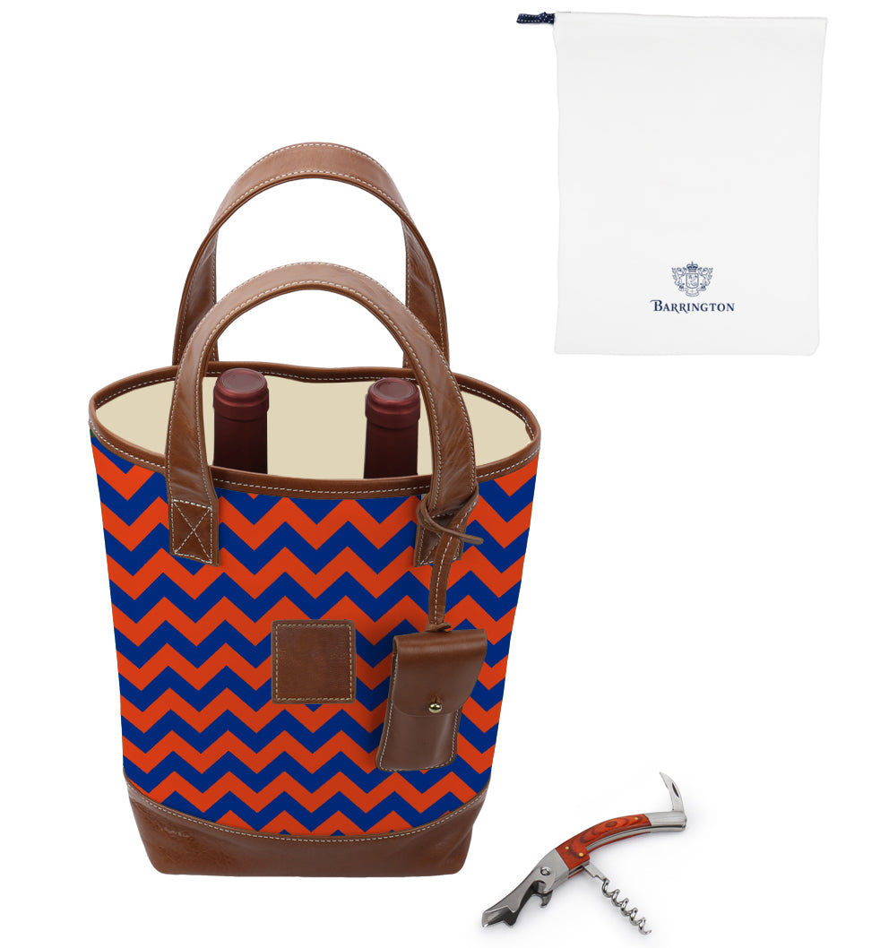 UF Alumni Gameday Westport 2 Bottle Wine Tote