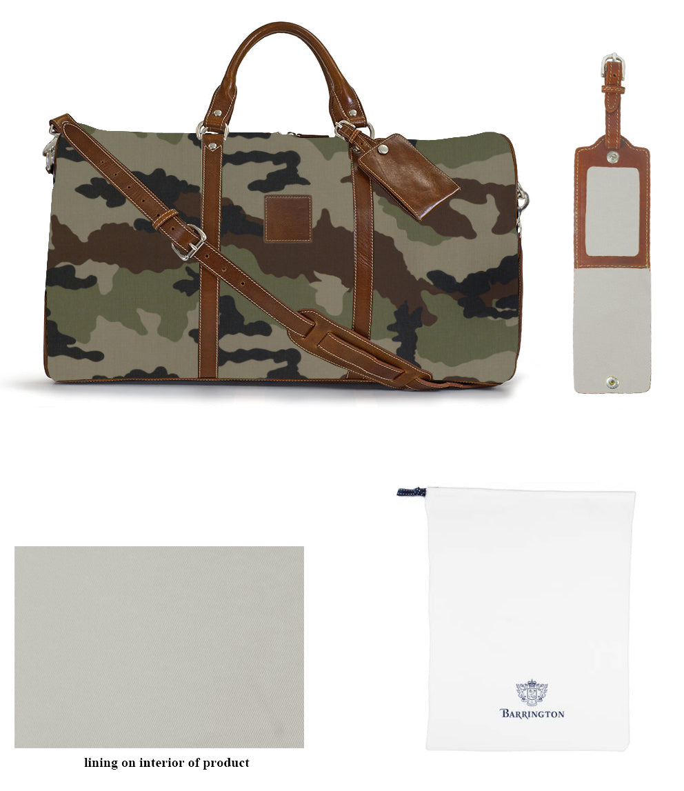 Belmont Duffel Bag-Camo Collection