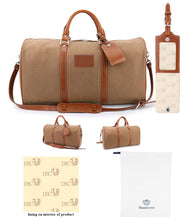 Load image into Gallery viewer, DSC Belmont Waxed Canvas Duffel Bag-Special Offer