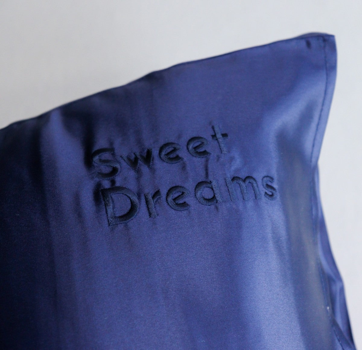 Silk Pillowcase Dreamswithus Premium Navy Blue