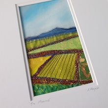Load image into Gallery viewer, Small Mount Hand Made Textile Art: The Mournes