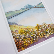 Load image into Gallery viewer, Small Mount Hand Made Textile Art: Donegal