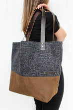 Load image into Gallery viewer, Mor – Tote Bag: Charcoal Grey