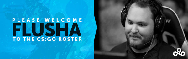 Cloud9 CS:GO Sign flusha, Release STYKO