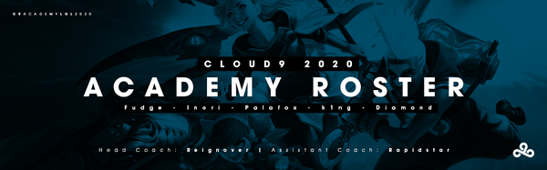Introducing the 2020 Cloud9 LCS Academy Roster