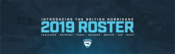 British Hurricane Announce Roster for Overwatch Contenders 2019 Season 1: Europe