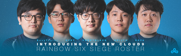 Cloud9 Announces Rainbow Six Siege Team