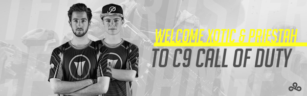 Welcome Xotic & Priestah to Cloud9 Call of Duty!