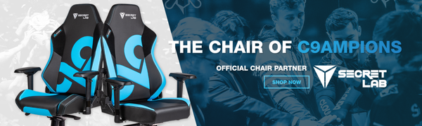 Cloud9 & Secretlab Launch Partnership, Special Edition Chair