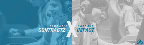Cloud9 Announces the Departures of Impact and Contractz