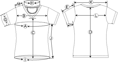 Women's Sizing Diagram