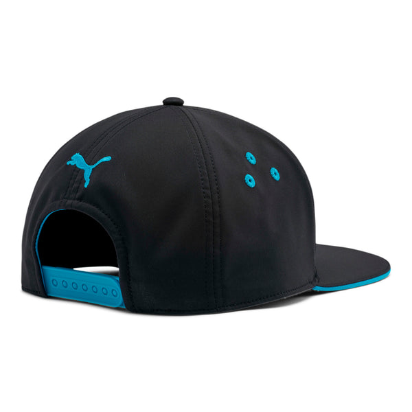 Puma x Cloud9 Snapback Hat. Black. Blue.