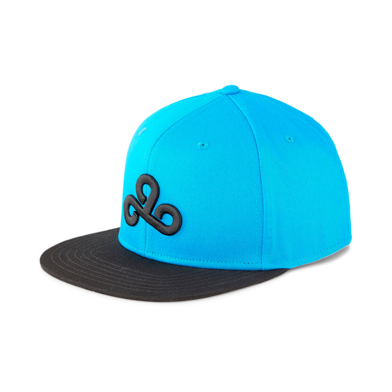 Puma x Cloud9 Snapback Hat. Blue.