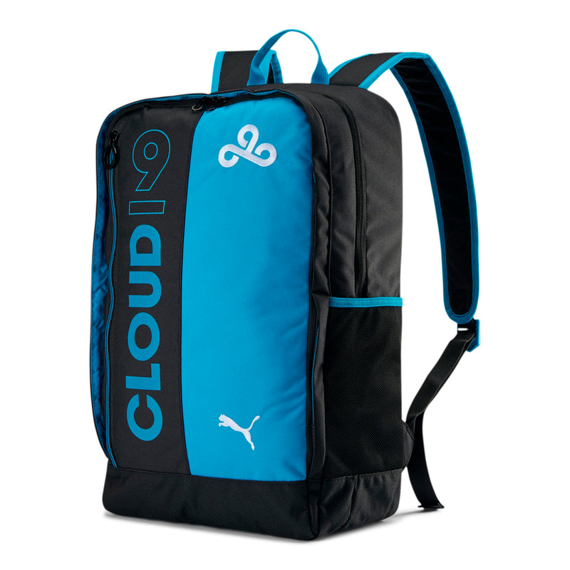 Puma x Cloud9 Backpack. Black. Blue.