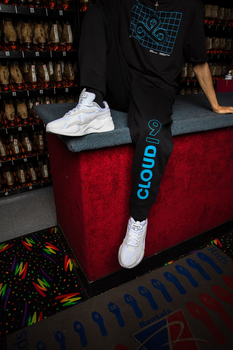 Puma x Cloud9 One-Up Tech Jogger. Black.