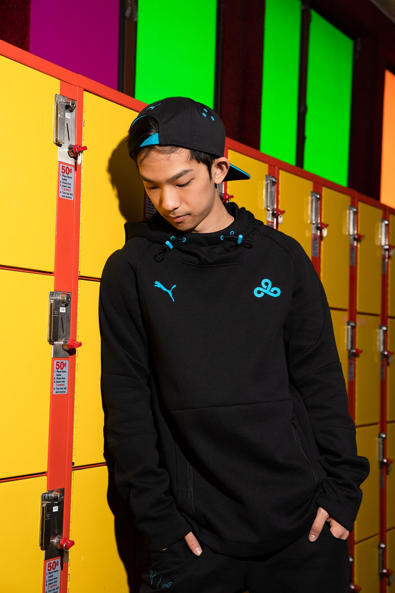 Puma x Cloud9 One-Up Tech Hoodie. Black.