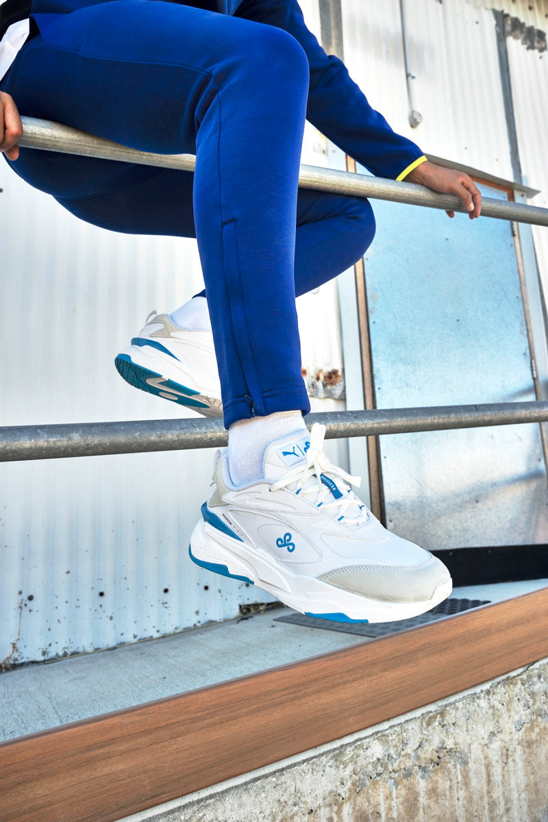 PUMA x Cloud9 Overpowered Pant. Blue.