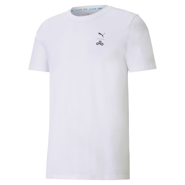 Puma x Cloud9 Corrupted T-Shirt. White.