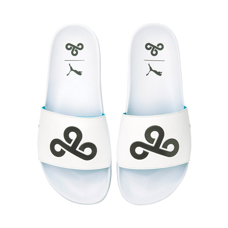 PUMA x Cloud9 Leadcat Slide. White.