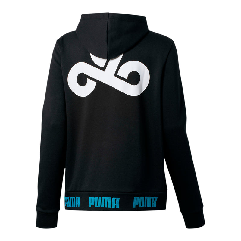 Puma x Cloud9 2020 Gameday Hoodie. Womens. Black.