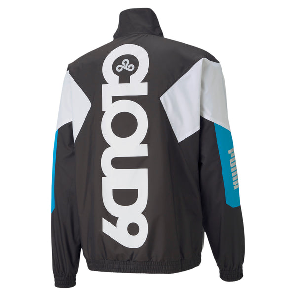 Puma x Cloud9 Corrupted Windbreaker. Black.