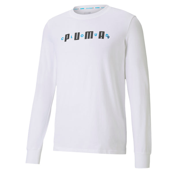 Puma x Cloud9 One Hit KO Tee. White.