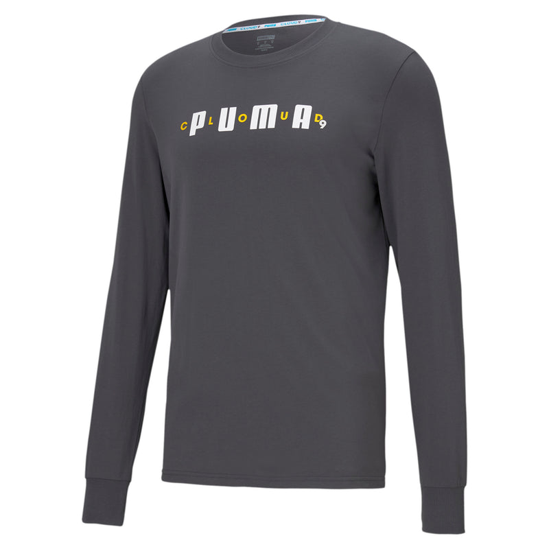 Puma x Cloud9 One Hit KO Tee. Grey.