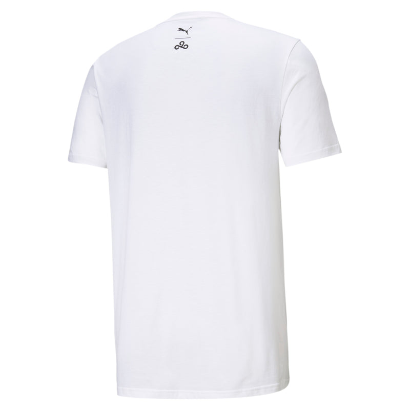 Puma x Cloud9 Disconnect T-Shirt. White.