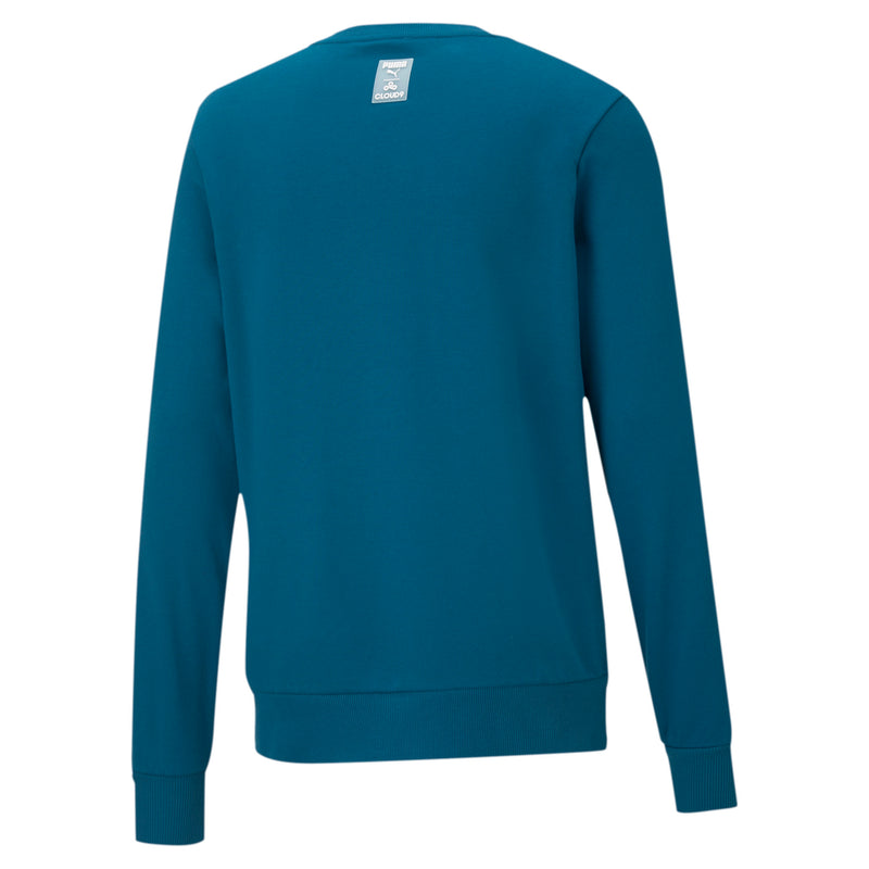 Puma x Cloud9 Disconnect Sweatshirt. Blue.