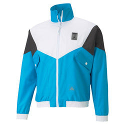 Puma x Cloud9 Corrupted Windbreaker. Womens. Blue.