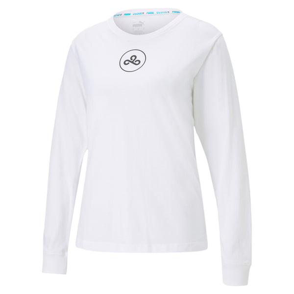 Puma x Cloud9 Roar Tee. Womens. White.